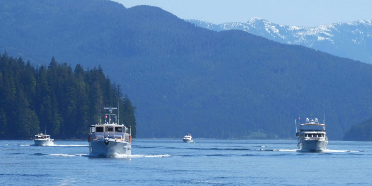 Up the Inside Passage to Southeast Alaska-The 2018 Waggoner Guide Flotilla, Part 1