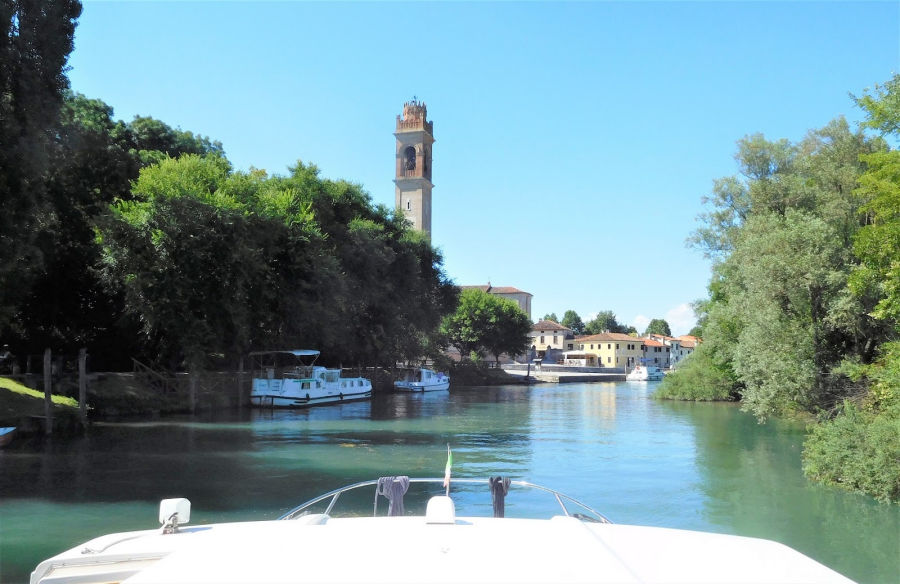 The End of our Canal Cruise in Italy