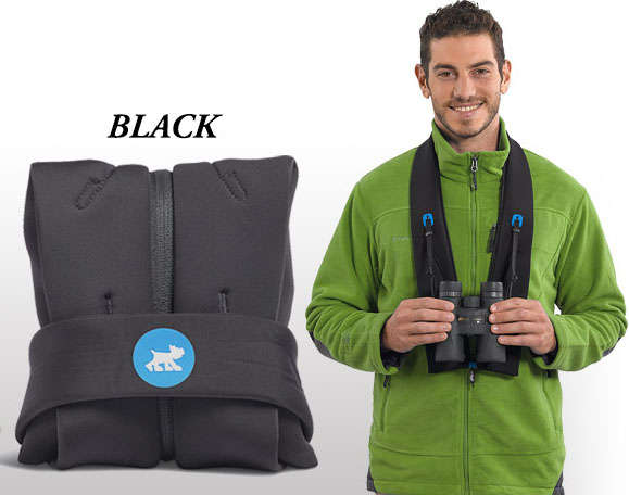 The Miggo Strap and Wrap for your binoculars
