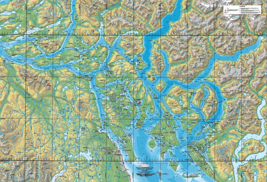 New Desolation Sound and Broughton Islands Planning Maps from Ports on