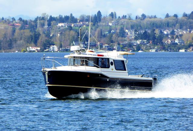 Ranger Tug 23 a roomy cruiser