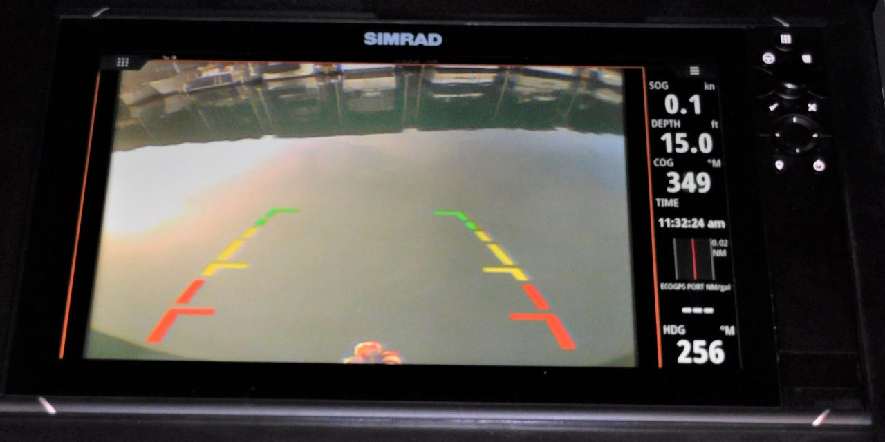 Backup camera for boaters