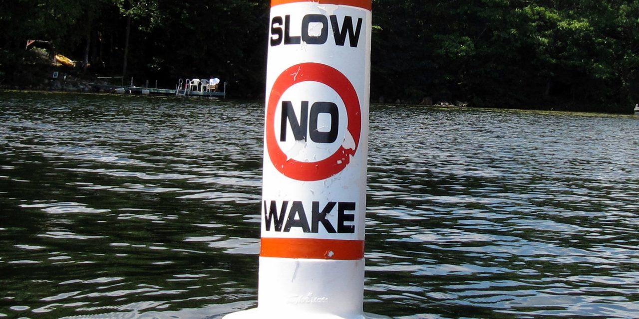 No Wake Speed Limit Zones