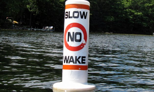No Wake Speed Limit Zones