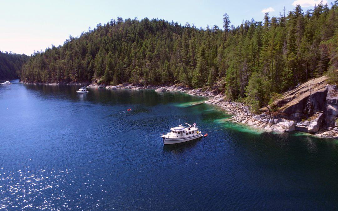 Desolation Sound Flotilla – Waterfalls and Whales