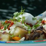 Potato Bowl with Black Bean Sauté