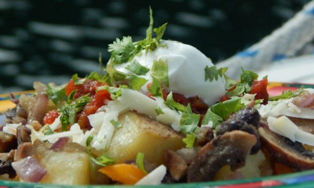 Potato Bowl with Black Bean Sauté