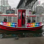 Take a ride on the Aquabus Ferry