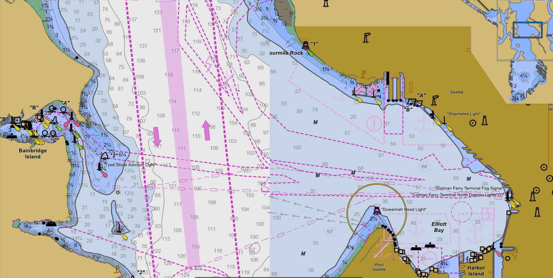 Noaa The Sunsetting Of Raster Charts The Dawning Of New Vector Charts Waggoner Cruising Guide