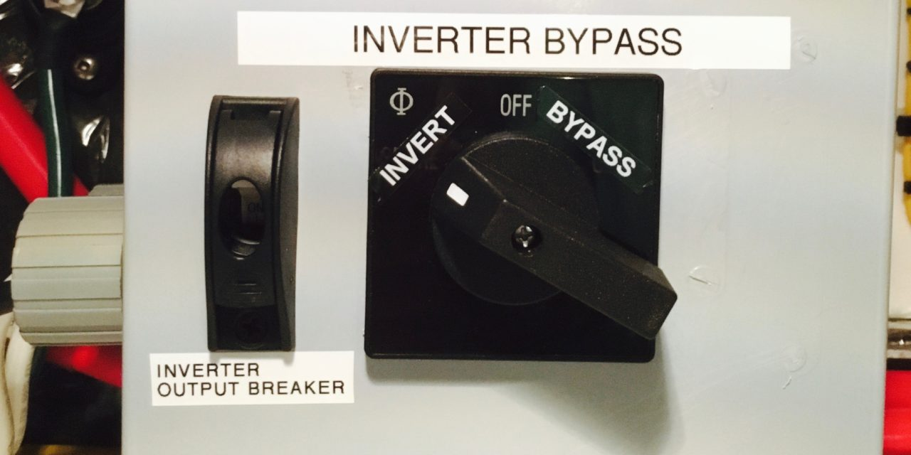 Benefits of installing an inverter bypass switch