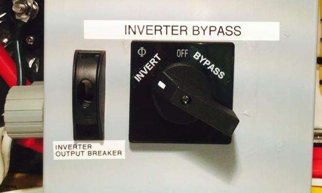 Benefits of installing an inverter bypass switch