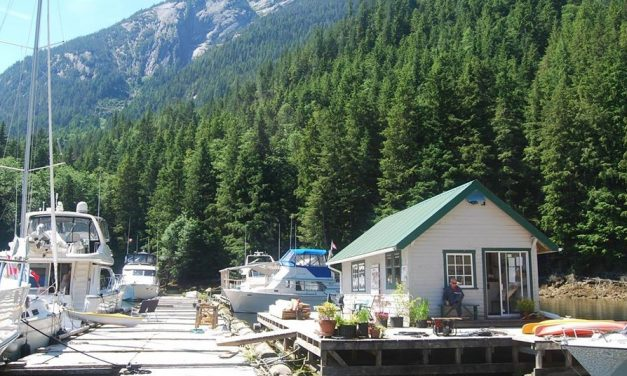 Kwatsi Bay Marina in the Broughtons – Sold