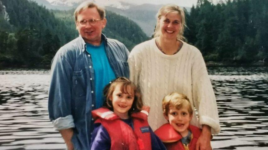 Max, Anna, and Kids at Kwatsi