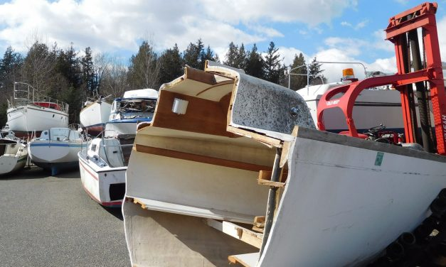 Looking for Parts? – Try the Sailboat Wrecking Yard in Lynden, WA