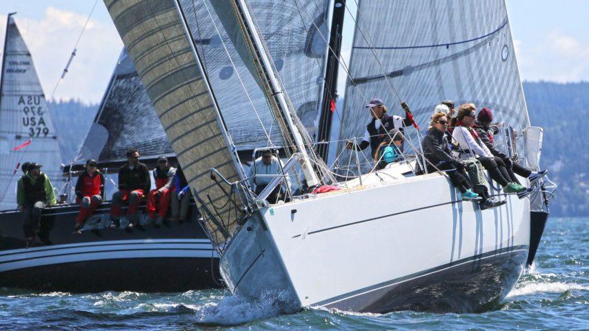 People on Race Boat