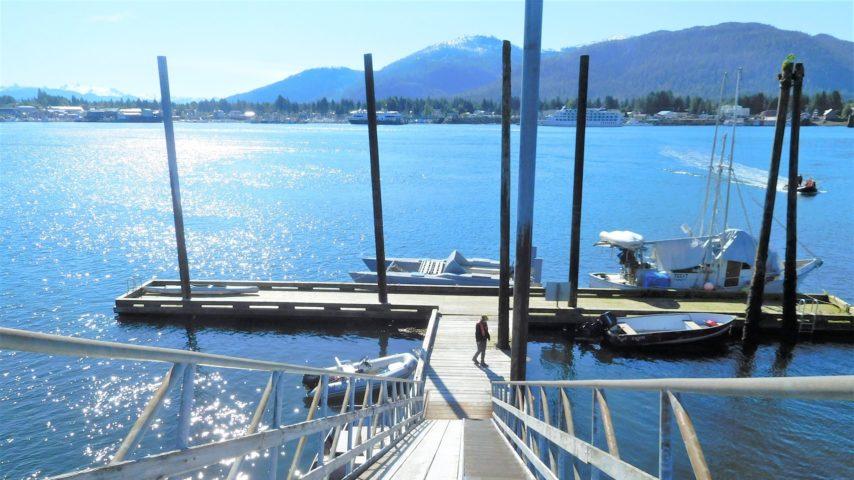 Public Dock on Kupreanof Island