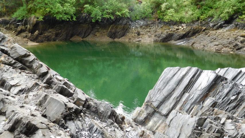 Flooded Mine Shaft at Treadwell