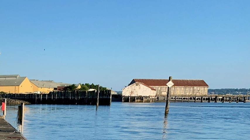 Old Cannery Buildings at Semiahmoo