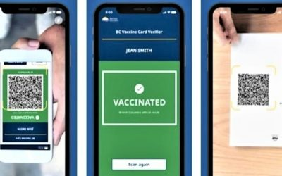 Vaccine Cards Required in British Columbia